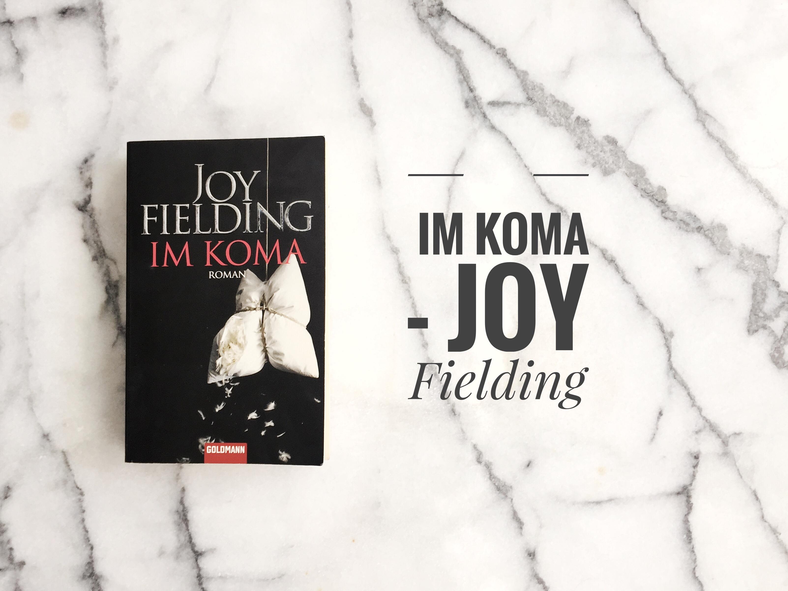 Im Koma Thriller Joy Fielding